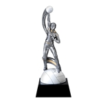 Female Volleyball Motion Extreme Trophies