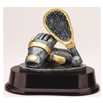 Lacrosse Stick and Mitts Trophies
