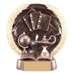 Academic Round Plate Trophies