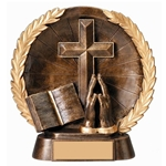 Religious Round Plate Trophies