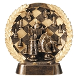 Chess Round Plate Trophies