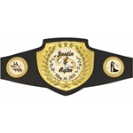 Wedding Themed Custom Award Belt