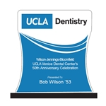 UCLA Dentistry 50th Anniversary Custom Trophy