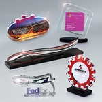 "Custom Shaped Acrylic Awards 3/8"" thick (up to 33 square inches)"
