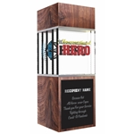 Unconventional Hero Award Trophy
