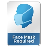 Face Mask Required Acrylic Sign