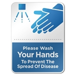 Hand Washing Reminder Acrylic Sign