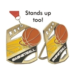 Basketball Cobra Medals
