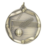 Volleyball Die Cast Medals