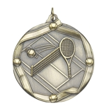 Tennis Die Cast Medals