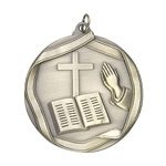 Religion Church Die Cast Medals
