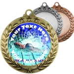 Swimming Insert Medals