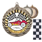 Pinewood Derby Insert Medals
