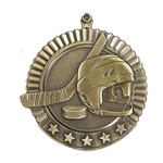 Gold Star Hockey Medals