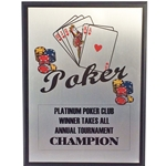 Poker Plaques