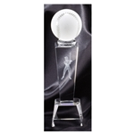 Baseball Sport Crystal Trophies