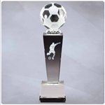 Soccer Male Sport Crystal Trophies