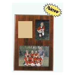 "9 x 13"" Dual Picture Photo Plaques"