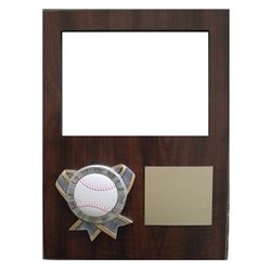 Baseball Themed Photo Plaques