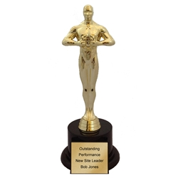 Oscar Like Achievement Trophy