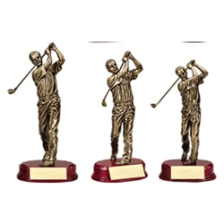 Male Golf Swing Trophies