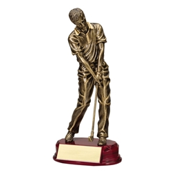 Male Golf Golf Chip Shot Trophies