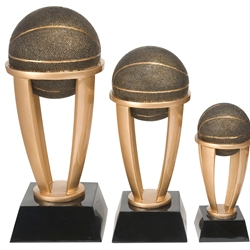 Basketball Tower Trophies