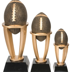 Football Tower Resin Trophies
