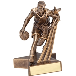 Male Basketball Super Star Trophy
