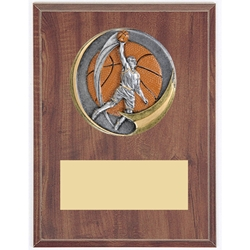 Male Basketball Motion Extreme Plaque