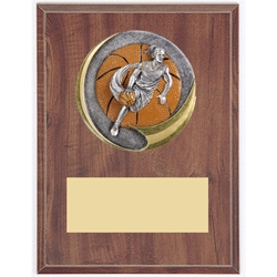 Female Basketball Motion Extreme Plaque