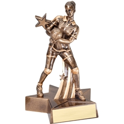 Female Volleyball Super Star Trophies