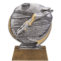 Female Swimming MX500 Series Trophies