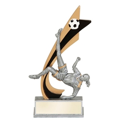 Female Soccer Live Action Trophies