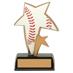 Baseball Sports Star Trophies