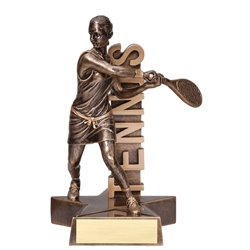 Tennis Female Billboard Trophies