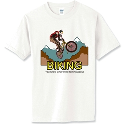 Biking You Know What Were Talking About T-Shirt