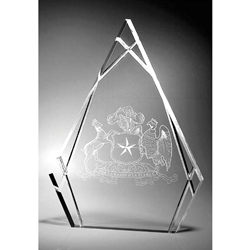 "Advance ""Tear Shape"" Acrylic Awards"