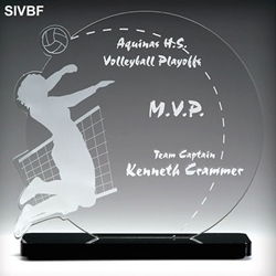Volleyball Acrylic Awards