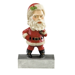 Santa Claus Bobble Head Trophy