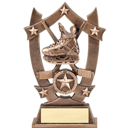 Sports Star Hockey Resin Trophies