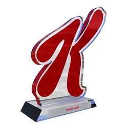 Custom Trophies 200 Series Two Piece Awards