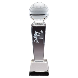 Volleyball Female Sport Crystal Trophies