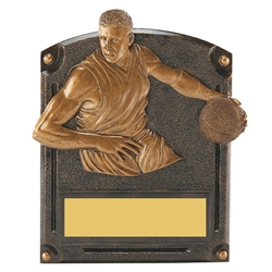 Basketball Male Legends of Fame Trophy/Plaque