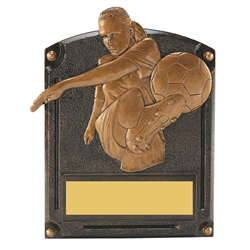 Soccer Female Legends of Fame Trophy/Plaque