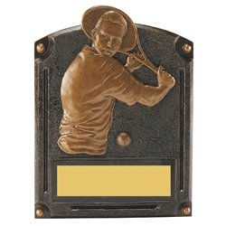 Tennis Male Legends of Fame Trophy/Plaque