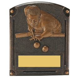 Pool Legends of Fame Trophy/Plaque