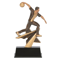 Bowling Male Star Power Trophies