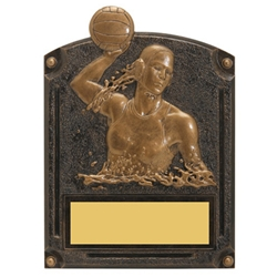 Water Polo Female Legend of Fame Trophy/Plaque