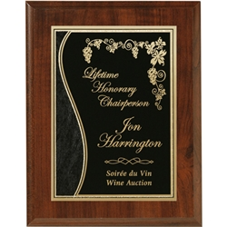 Engraved Cherry Plaques